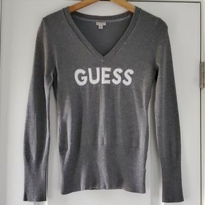 GUESS V-neck sweater!!